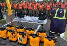 Photo of Ejército recibe equipos especializados para combatir incendios forestales