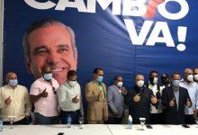 Photo of Exalcalde Roberto Salcedo juramenta comerciantes del Mercado Nuevo en apoyo a Abinader