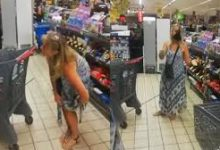 Photo of ¡Insólito! Mujer se quita ropa interior y la usa como mascarilla en pleno supermercado